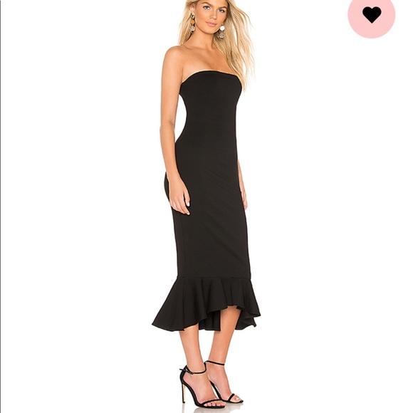 ba13b66f72e70 superdown Dresses | Izzy Ruffle Maxi Dress In Black Revolve | Poshmark